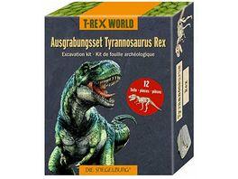 Die Spiegelburg Ausgrabungsset T Rex T Rex World ca 18x7x4 cm