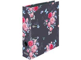 herlitz Ordner maX file A4 8cm Ladylike Flowers