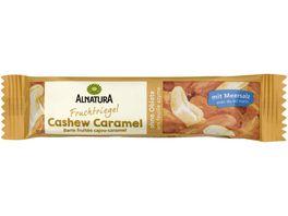 Alnatura Cashew Caramel Riegel