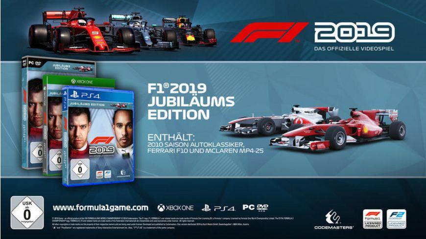 F1 2019 Jubilaeums Edition