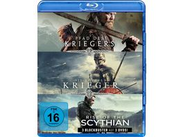 Krieger Box Pfad des Kriegers Die letzten Krieger Rise of the Scythian 3 Blu rays