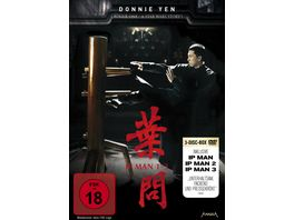 IP Man 1 3 3 DVDs