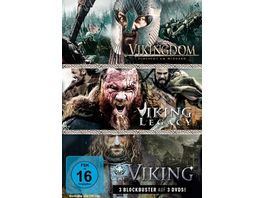 Wikinger Box Viking Vikingdom Viking Legacy 3 DVDs