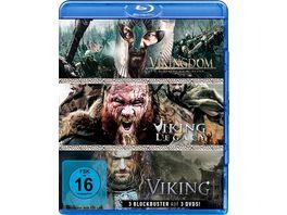 Wikinger Box Viking Vikingdom Viking Legacy 3 Blu rays