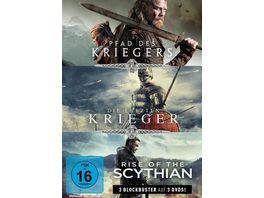 Krieger Box Pfad des Kriegers Die letzten Krieger Rise of the Scythian 3 DVDs