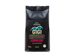 Herbaria Gigi Espresso gemahlen bio 250g