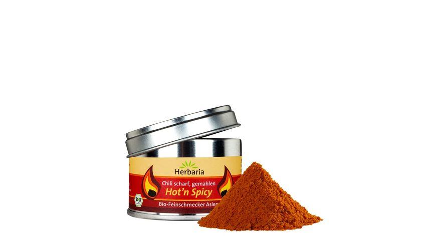 Herbaria Hot n Spicy gemahlen bio 25g S Dose