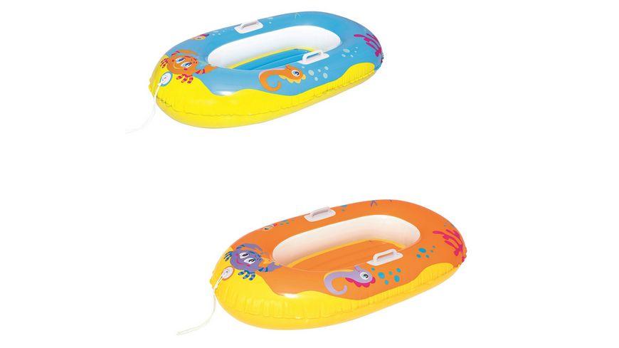 Bestway - Happy Crustacean Junior Boot 1,19m, 1 Stück, sortiert