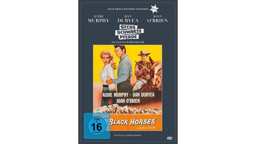 Sechs schwarze Pferde Digitally Remastered Edition Western Legenden 60