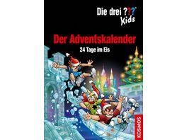 KOSMOS Die Drei Kids Der Adventskalender 2019 24 Tage im Eis