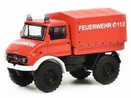 Schuco Edition 1 64 Mercedes Benz Unimog U406 Feuerwehr