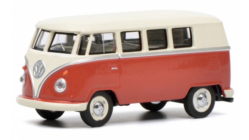Schuco Edition 1 64 VW T1 Bus rot beige