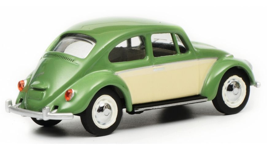 Schuco Edition 1 64 VW Kaefer resedagruen beige
