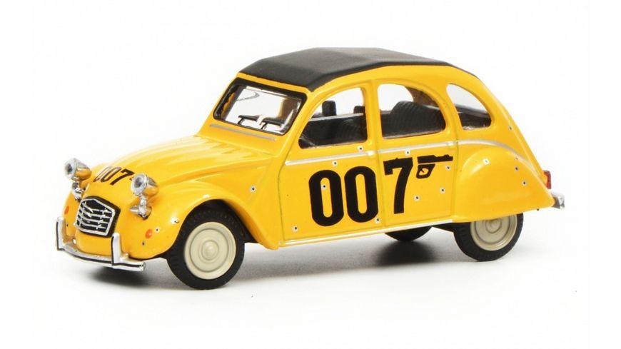 Schuco Edition 1 64 Citroen 2CV 007 gelb