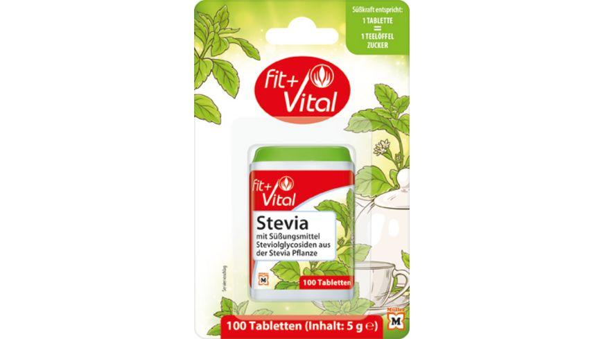 Fit Vital Stevia Suessstofftabletten