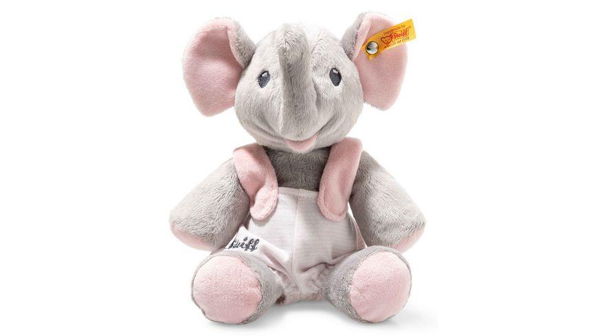Steiff Trampili Elefant 24 cm grau rosa