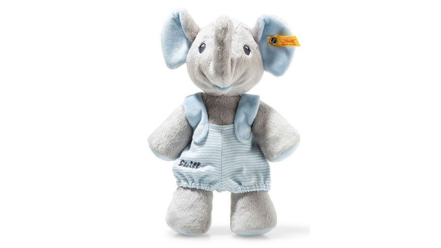 Steiff Trampili Elefant 24 cm grau blau