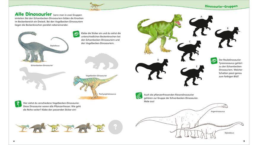 WAS IST WAS Junior Mitmachheft Dinosaurier