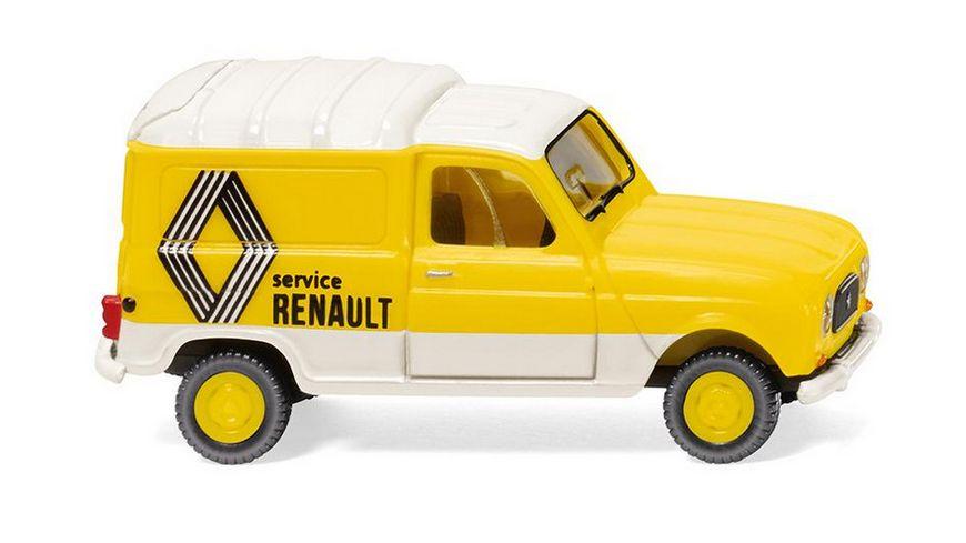 WIKING 022503 Renault R4 Kastenwagen Renault Service 1 87