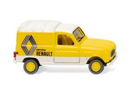 Wiking 0225 03 Renault R4 Kastenwagen Renault Service 1 87