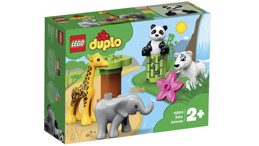 LEGO DUPLO 10904 Suesse Tierkinder