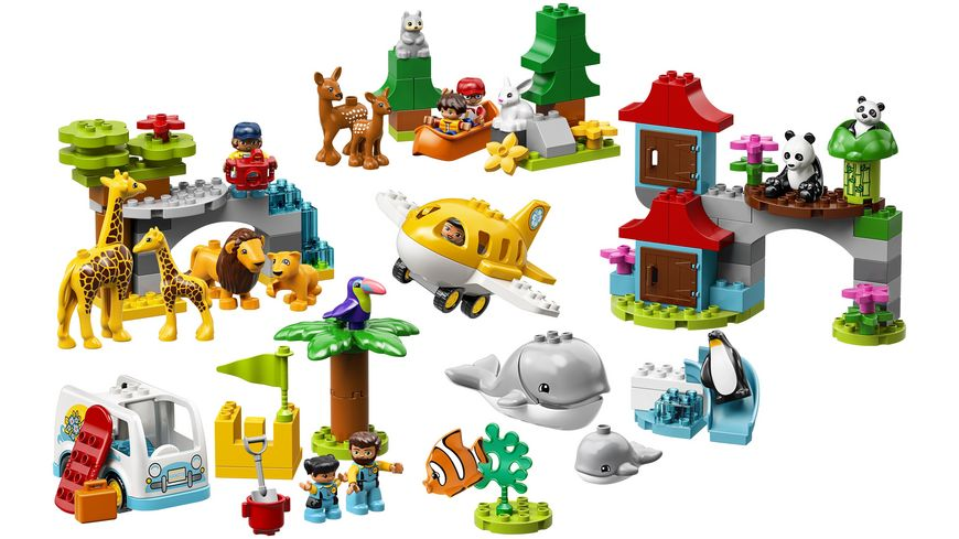 LEGO DUPLO 10907 Tiere der Welt