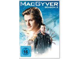 MacGyver Staffel 2 6 DVDs