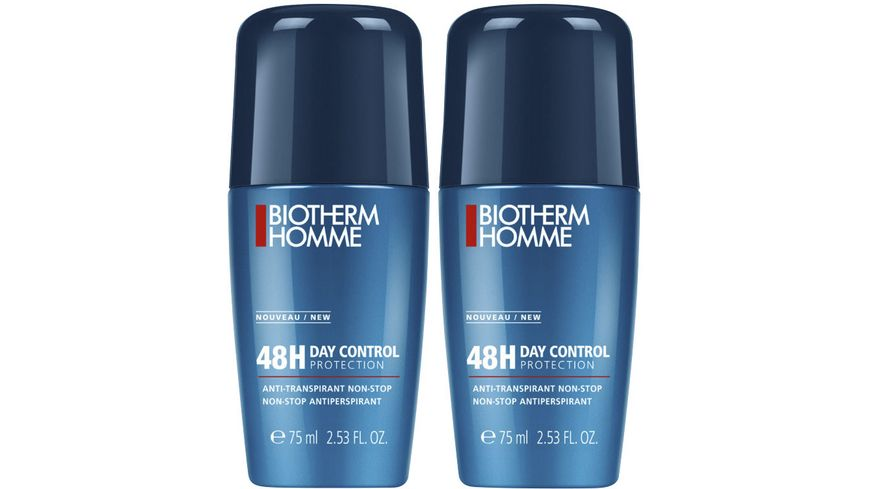 BIOTHERM HOMME Deo Roll On Daycontrol 48h Doppelpack