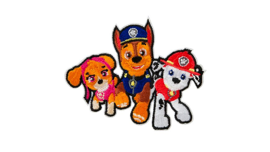 Mono Quick Buegelmotiv Paw Patrol Friends