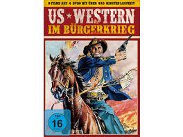 US Western im Buergerkrieg 4 DVDs