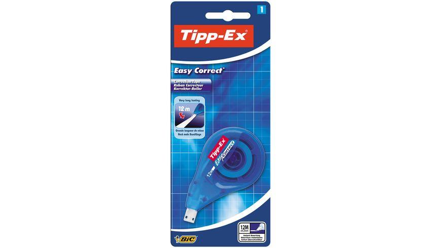 Tipp-Ex Easy Correct Korrekturroller - 12 m x 4,2 mm, 1er Pack