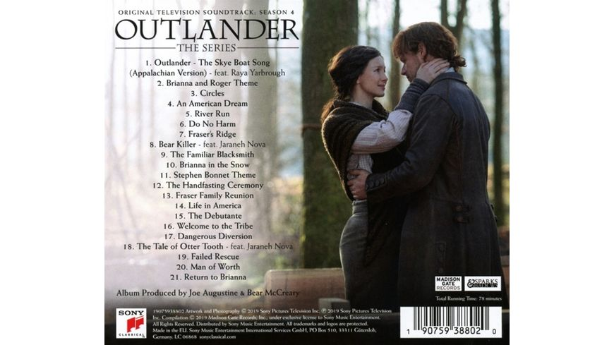 Outlander OST SeaSon 4