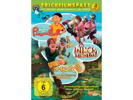 Trickfilmspass Die grosse Animationsbox fuer Kinder 3 DVDs