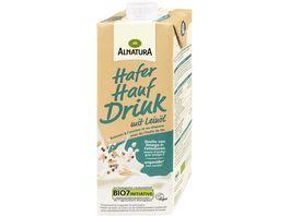 Alnatura Hafer Hanf Drink mit Leinoel