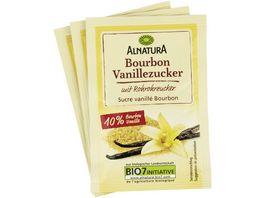 Alnatura Bourbon Vanillezucker 3x8g