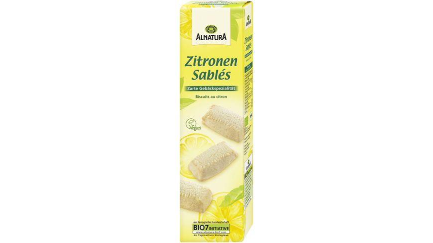Alnatura Zitronen Sables