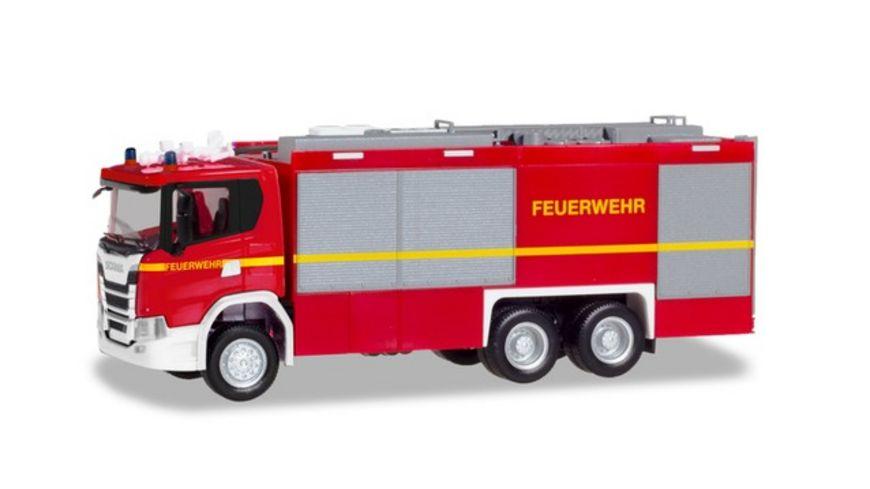 Herpa 094375 Scania CG 17 Empl ULF Feuerwehr geaenderter Aufbau