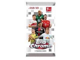 Topps Bundesliga Chrome 2018 2019 Karten Booster