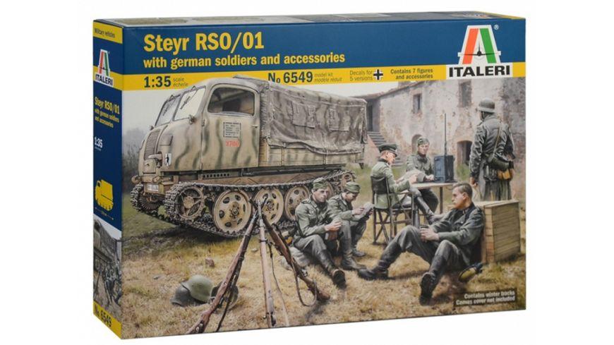Italeri 1 35 Steyr RSO 01 w Germ soldiers access