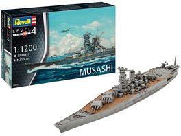 Revell 06822 Musashi 1 1200
