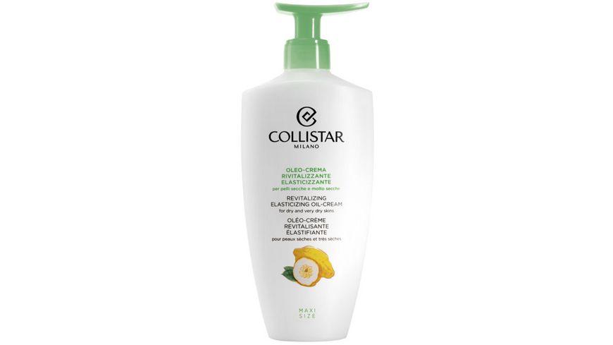 COLLISTAR Revitalizing Elasticizing Oil Cream