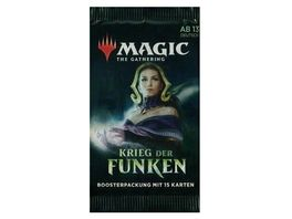 Magic the Gathering Krieg der Funken Boosterpackung 15 Karten