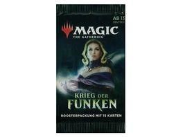 Magic the Gathering Krieg der Funken Boosterpackung 15 Karten