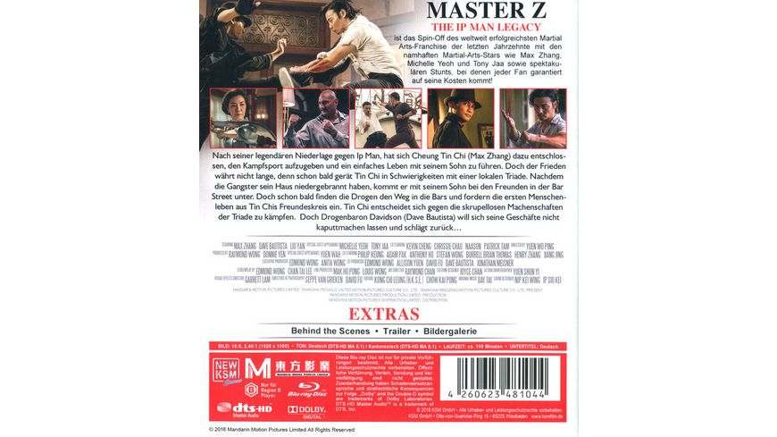 Master Z The Ip Man Legacy