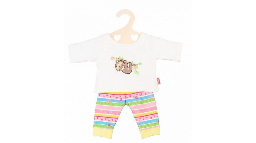 Heless Pyjama Faultier Flauschi Gr 28 35 cm