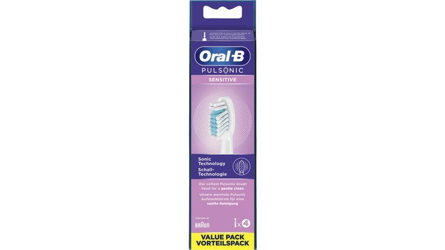 Oral B Pulsonic Aufsteckbuersten 4 Stueck