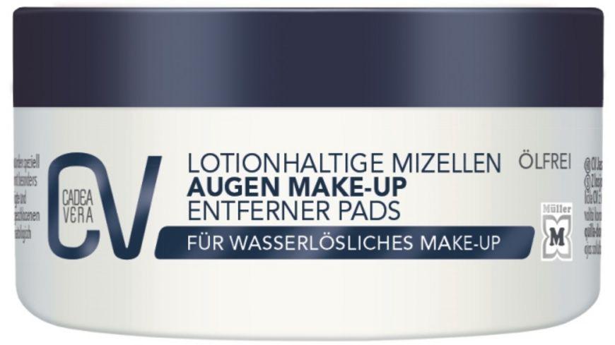 CV Augen Make Up Entferner Pads Lotion Mizelle 50 Pads