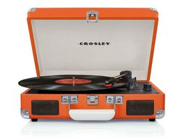 CROSLEY Cruiser Deluxe Plattenspieler orange