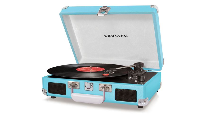 CROSLEY Cruiser Deluxe Plattenspieler tuerkis