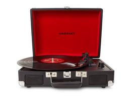 CROSLEY Cruiser Deluxe Plattenspieler schwarz